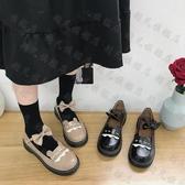 娃娃鞋 lolita日系小皮鞋女春季新款百搭jk鞋森女平底洛麗塔鞋-10週年慶