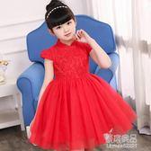 童裝洋裝中國風唐裝旗袍裙六一兒童女童演出禮服蓬蓬公主裙  原本良品