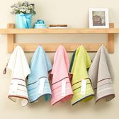 3條裝加厚純棉方巾成人洗臉巾柔軟吸水洗臉面巾正方形全棉小毛巾 易貨居