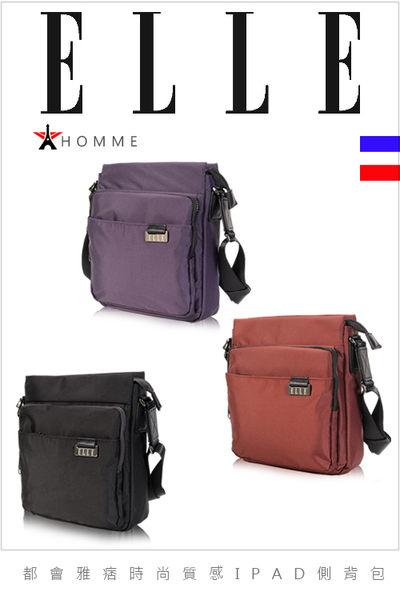 ELLE HOMME - 時尚火紅IPAD側背包搭配皮革精品設計款-2色