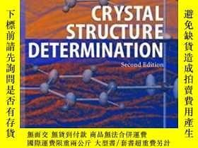 二手書博民逛書店Crystal罕見Structure Determination
