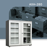 收藏家 AXH-280/AXH-280M 高承載左右雙門大型防潮櫃@弘瀚