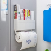 冰箱側壁掛架多功能廚房旁邊的置物架子側面頂收納神器上掛鉤掛件