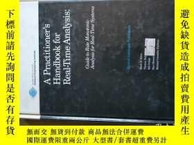 二手書博民逛書店a罕見practitioner`s handbook for real-time analysis:guide t