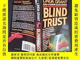 二手書博民逛書店Blind罕見Trust by Linda Grant(詳見圖)