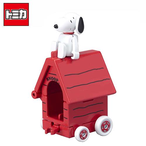【日本正版】TOMICA 騎乘系列 R01 史努比 Snoopy x House Car 玩具車 多美小汽車 - 887270