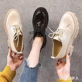 牛津鞋小皮鞋女2019春新款韓版百搭英倫學院風厚底增高單鞋 QX668 【棉花糖伊人】