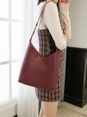 時尚女包 包包女包新款2020子母包時尚大容量單肩包女斜挎包百搭ins托特包 叮噹百貨