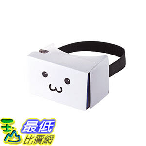 [106東京直購] Elecom P-VRG05F1 臉 VR 眼鏡虛擬實境 goggle glass[Light weight type made of paper]