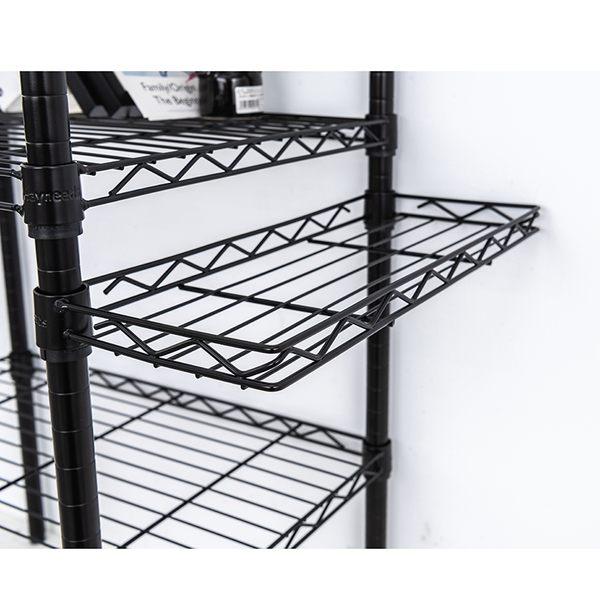 收納架/置物架/層架配件  【配件類】45X20cm 反焊設計烤黑ㄇ網  dayneeds