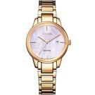 CITIZEN星辰 LADY'S 簡約甜美時尚腕錶 EW2593-87Y