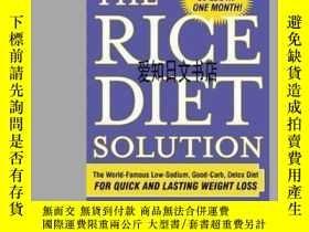 二手書博民逛書店【罕見】The Rice Diet SolutionY175576 Photo Credit: Kit Sim
