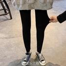 黑色打底褲女外穿緊身褲新款秋季修身顯瘦褲子小腳九分鉛筆褲 快速出貨
