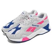 Reebok 復古慢跑鞋 AZTREK 灰 粉紅 麂皮鞋面 老爹鞋 運動鞋 女鞋【ACS】 DV3941