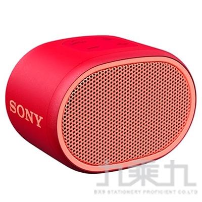 SONY 攜帶式藍芽喇叭 SRS-XB01 紅