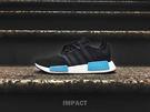 IMPACT Adidas NMD R1 W 黑 水藍 女鞋 休閒鞋 休閒 百搭 經典 輕量 舒適 BY9951