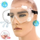 四孔透氣防疫眼罩.成人透明護目鏡.頭戴式防疫面罩.防飛沫口水防疫眼鏡.防塵防霧防風鏡