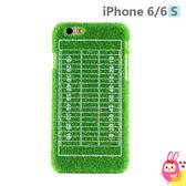 Hamee 日本 Shibaful 草地草皮 4.7吋 iPhone6s/6 硬殼 手機殼 運動場地 (橄欖球) SSP-IP603