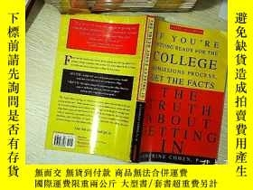 二手書博民逛書店THE罕見TRUTH ABOUT GETTING IN  進入的真相Y203004 Katherine Coh