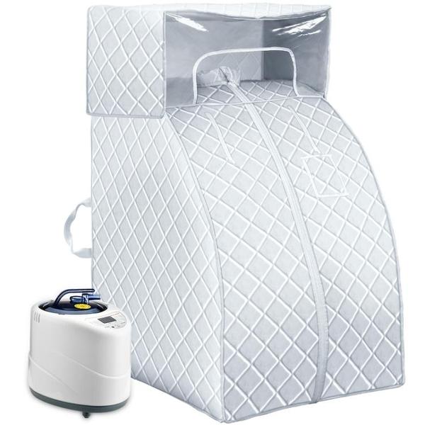 家用蒸汽桑拿浴箱家庭汗蒸房單人排毒熏蒸機滿月發汗箱全身 熊熊物語