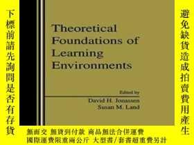二手書博民逛書店Theoretical罕見Foundations Of Learning EnvironmentsY36468