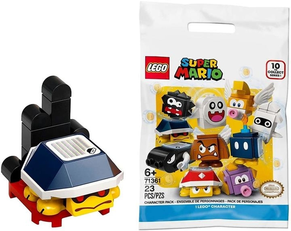 LEGO 樂高 超級馬里奧 卡通角色包 三角【71361-Buzzy Beetle】