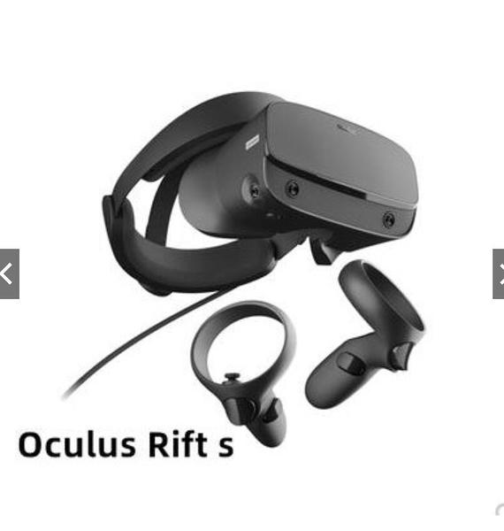 12h快速出貨 Oculus Rift S 2021新款 VR眼镜头盔 全新 專用穀歌手柄頭戴式吃雞