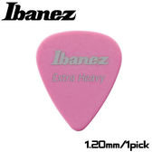 【非凡樂器】Ibanez 標準彈片pick【EXTRA HEAVY】1.20mm 粉紅