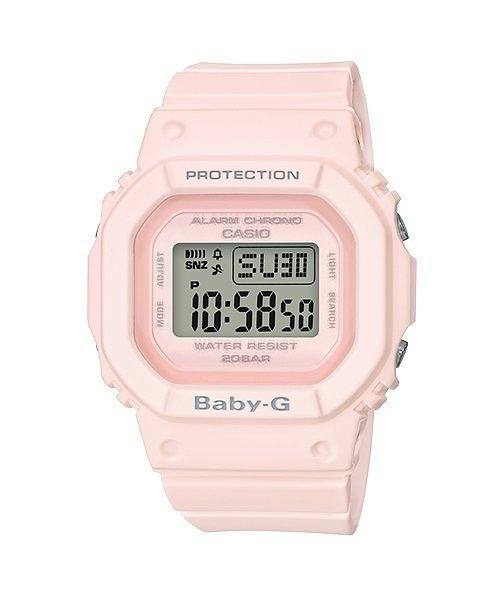 附台灣卡西歐保卡才是公司貨【時間光廊】CASIO 卡西歐 Baby-G 粉色 經典款 BGD-560-4