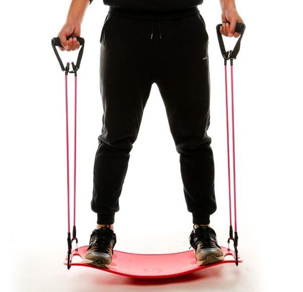 拉筋板 梵酷健身踏板平衡板運動滑板平衡練習健身韻律板扭腰板家用器材【韓國時尚週】