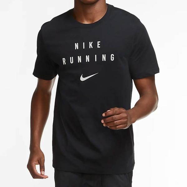 NIKE Dri-FIT Run Division 男裝 短袖 慢跑 休閒 反光 黑【運動世界】CZ8333-010