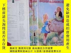 二手書博民逛書店英文原版:Alice s罕見Adventures in Wonderland and Through the Lo