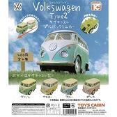 福斯汽車2 壓鑄迴力迷你車 Volkswagen Type 2 扭蛋 轉蛋 全4款 COCOS TU002