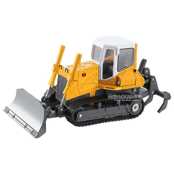 HY TRUCK華一 2512-3推土機 工程合金車模型車 推土車 堆土機(1:25)【楚崴玩具】