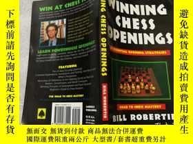 二手書博民逛書店Winning罕見Chess Openings 贏得國際象棋開局