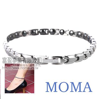 【MOMA】純鈦子彈腳鍊-M91L