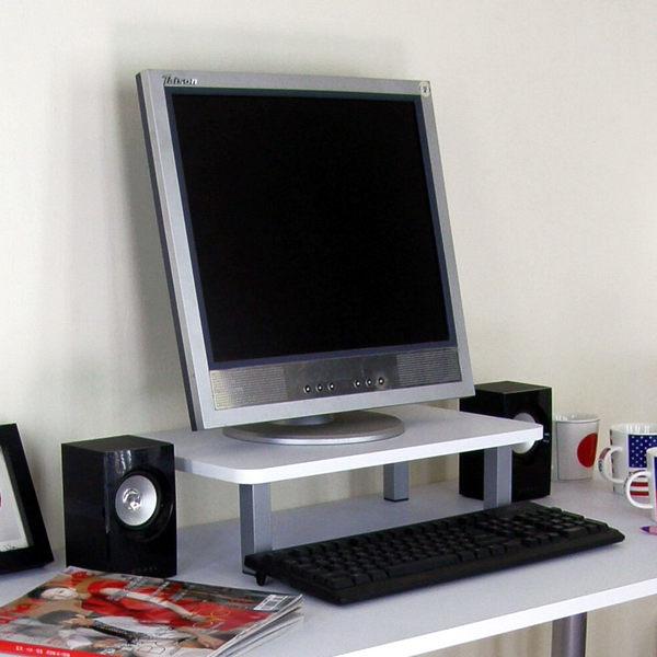 寬48公分-桌上型置物架 螢幕架 印表機架(二色) MIT台灣製TS-3048
