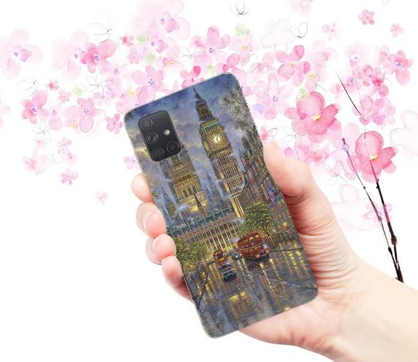 [A715 軟殼] 三星 Samsung Galaxy A71 A715FZ 手機殼 外殼 倫敦風情