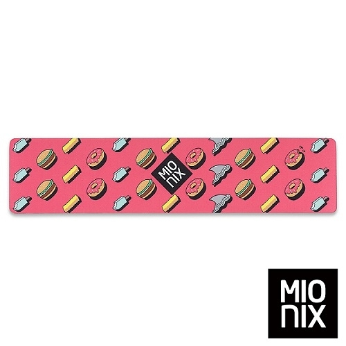 【MIONIX】 Long Pad Frosting 多功能腕墊滑鼠長墊(糖霜紅) 台灣總代理緯思創公司貨