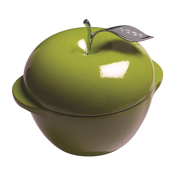 [LODGE] 3QT 綠蘋果琺瑯鍋 (E3AP50)
