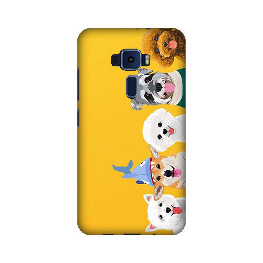 華碩 asus ZenFone3 ZE520KL Z017DA 手機殼 硬殼 狗狗家族