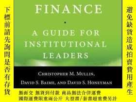 二手書博民逛書店Community罕見College Finance: A Guide for Institutional Lea