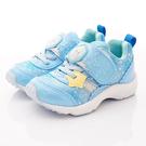 日本月星頂級童鞋 冰雪聯名運動鞋款 DNC12415藍(中小童段)