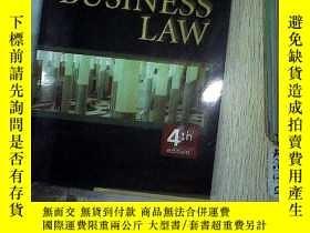 二手書博民逛書店FUNDAMENTALS罕見OF BUSINESS LAW 商法