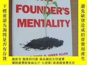 二手書博民逛書店The罕見Founder s Mentality :How to