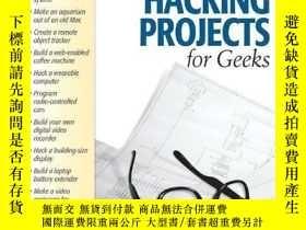 二手書博民逛書店Hardware罕見Hacking Projects For GeeksY256260 Scott Fulla