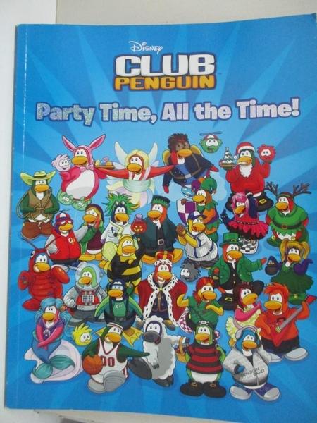 【書寶二手書T3/兒童文學_KEE】Party Time, All the Time!_Gonzalez, Sue