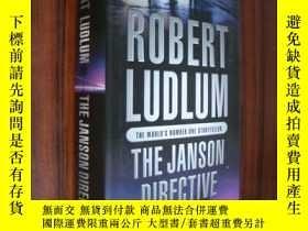 二手書博民逛書店The罕見Janson Directive(精裝24K帶書衣)Y