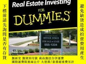二手書博民逛書店Commercial罕見Real Estate Investing For DummiesY410016 Pe