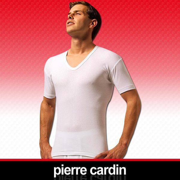 快速出貨!Pierre Cardin 皮爾卡登 新機能吸汗透氣U領短袖衫-台灣製造